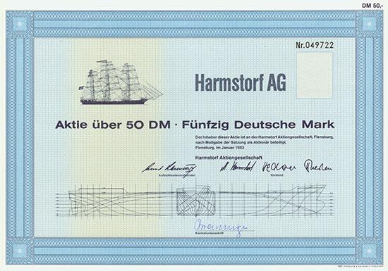 Harmstorf AG [2 Stück]