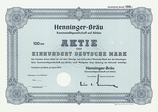 Henninger-Bräu KGaA