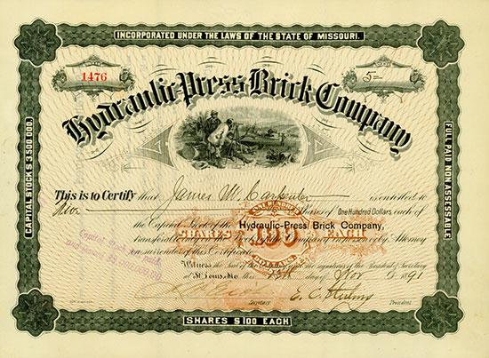 Hydraulic-Press Brick Company