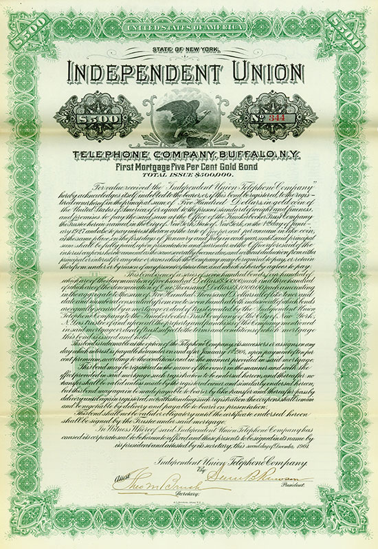 Independent Union Telephone Company