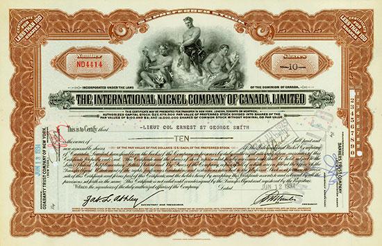 International Nickel Company of Canada Limited