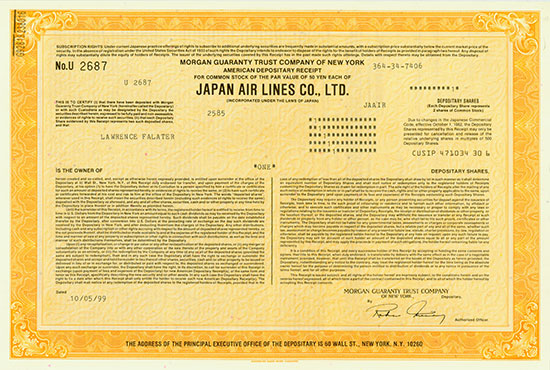 Japan Air Lines Co. Ltd.