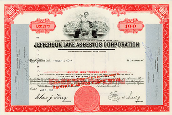 Jefferson Lake Asbestos Corporation