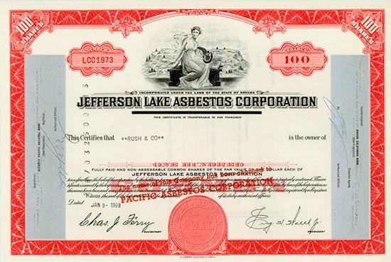 Jefferson Lake Asbestos Corporation