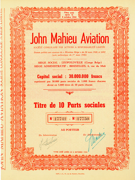 John Mahieu Aviation