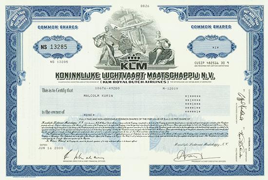 KLM Koninklijke Luchtvaart Maatschappij N. V.