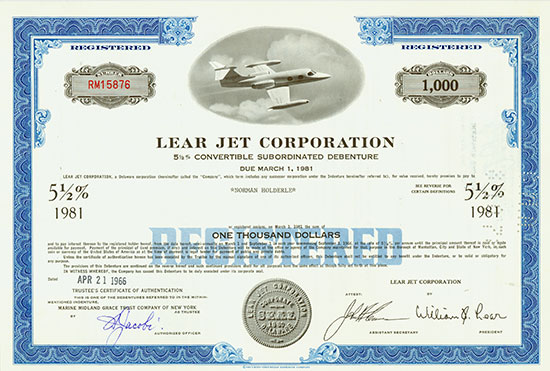 Lear Jet Corporation