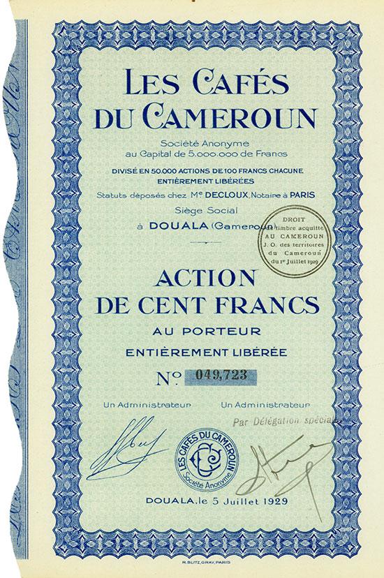 Les Cafés du Cameroun