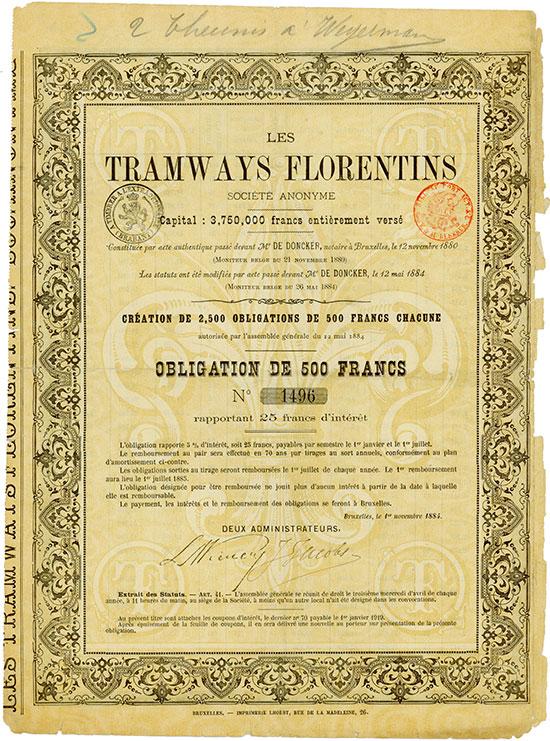 Les Tramways Florentins Société Anonyme