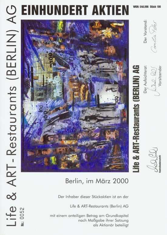 Life & ART-Restaurants (Berlin) AG