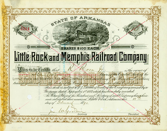 Little Rock and Memphis Railroad Company