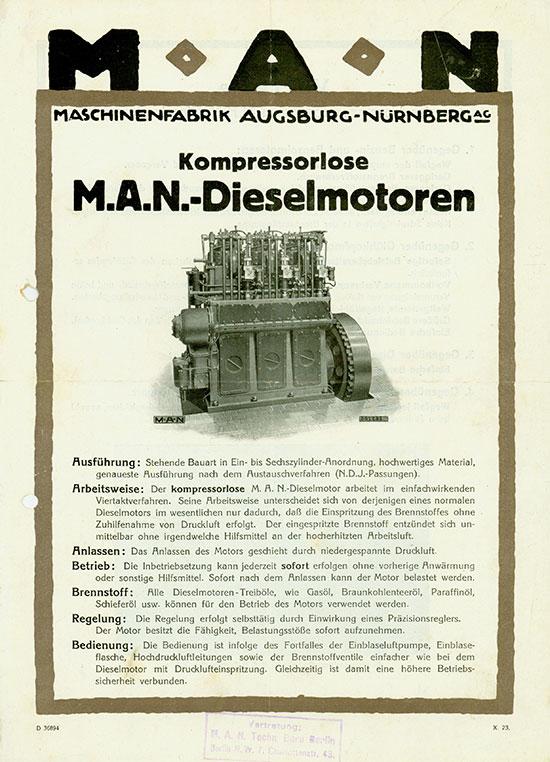 MAN Maschinenfabrik Augsburg-Nürnberg AG