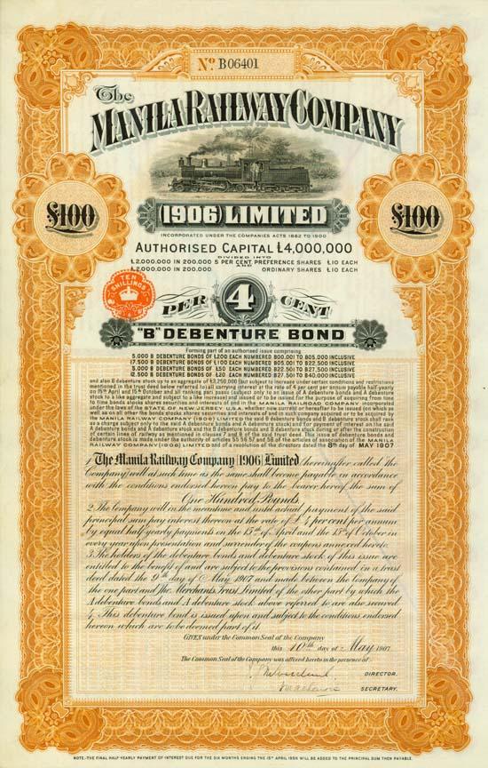 Manila Railway Company (1906) Limited