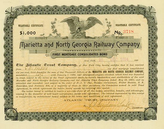 Marietta and North Georgia Railway Company
