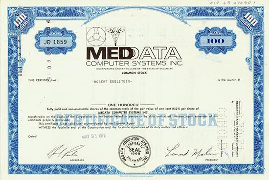 Medata Computer Systems Inc.