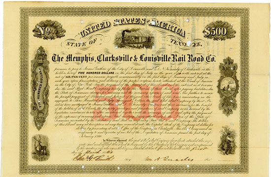 Memphis, Clarksville & Louisville Rail Road Co.