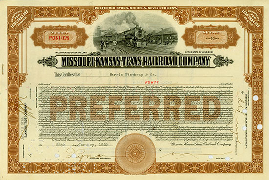 Missouri-Kansas-Texas Railroad Company