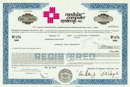 Modular Computer Systems, Inc.