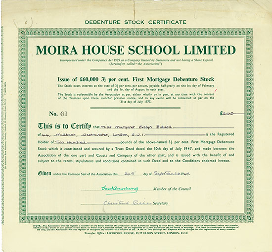 Moira House School Limited