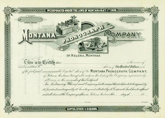 Montana Phonograph Company