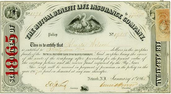 Mutual Benefit Life Insurance Company