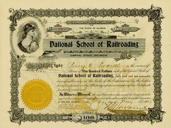 National School of Railroading