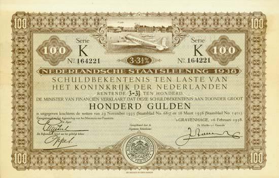 Nederlandsche Staatsleening 1938