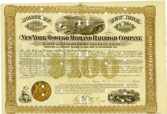 New York and Oswego Midland Railroad Company