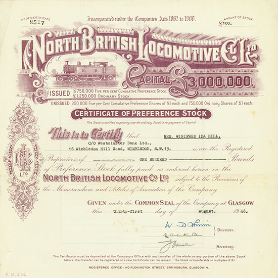 North British Locomotive Co. Ltd.