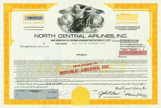 North Central Airlines, Inc.
