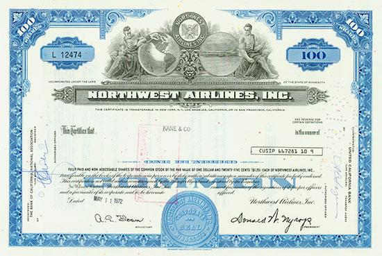 Northwest Airlines, Inc.