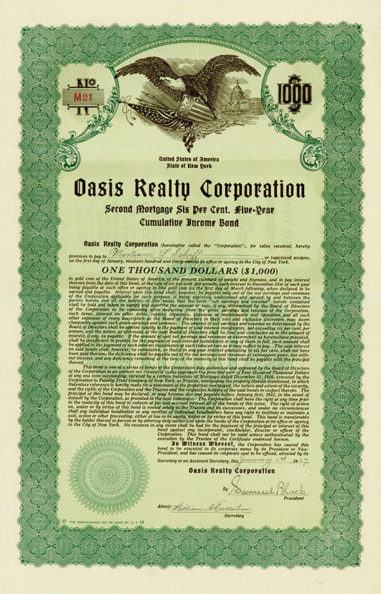 Oasis Realty Corporation