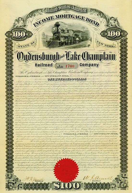 Ogdensburgh and Lake Champlain Railroad Company