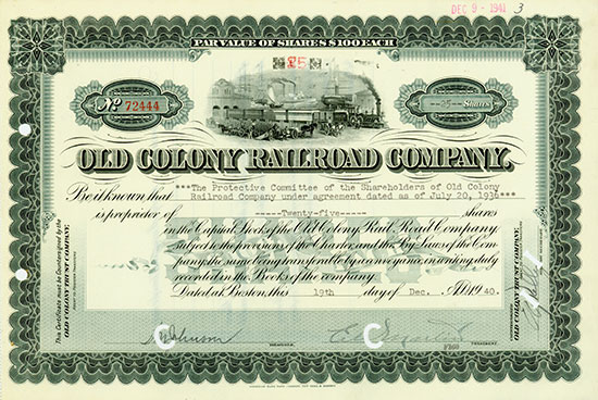 Old Colony Railroad Company