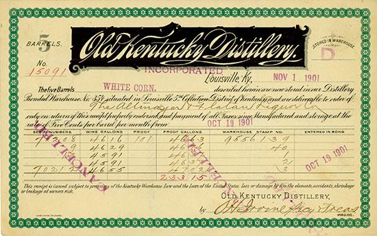 Old Kentucky Distillery Inc.