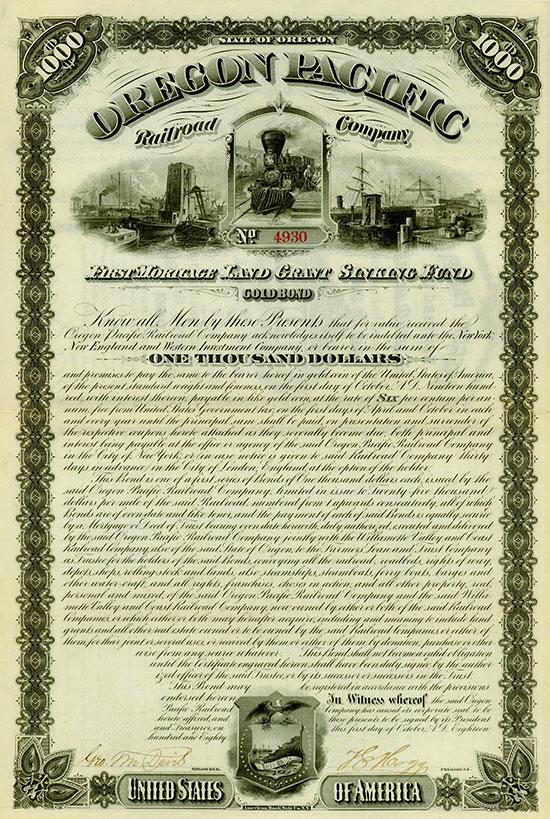 Oregon Pacific Railroad Company