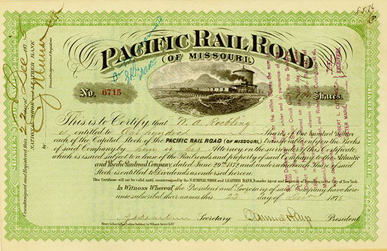 Pacific Rail Road (of Missouri)
