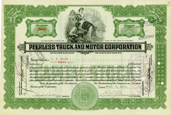 Peerless Truck and Motor Corporation