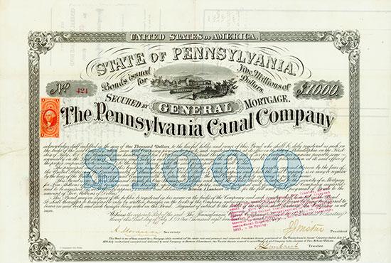 Pennsylvania Canal Company