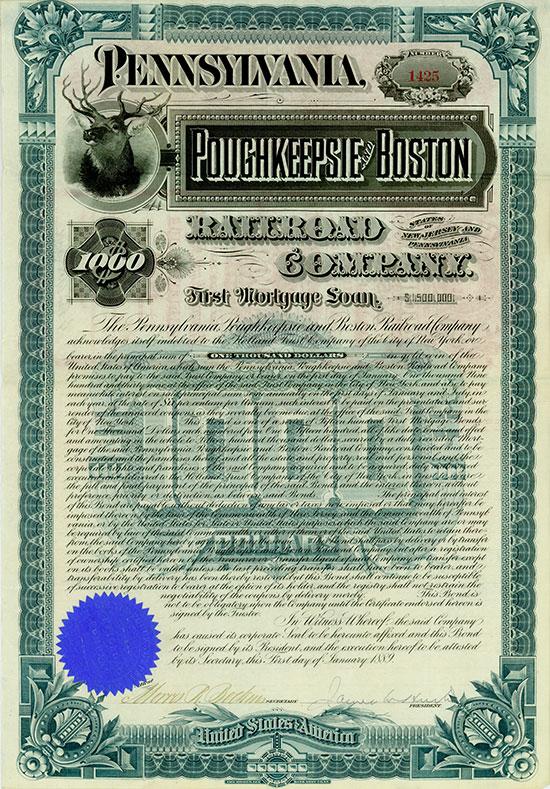 Pennsylvania, Poughkeepsie & Boston Railroad Company