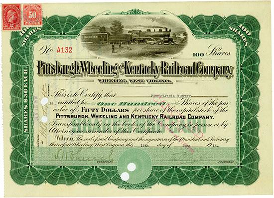 Pittsburgh, Wheeling and Kentucky Railroad Company
