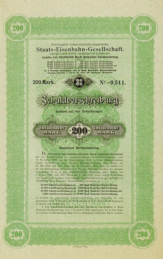 Priv. österreichisch-ungarische Staats-Eisenbahn-Gesellschaft