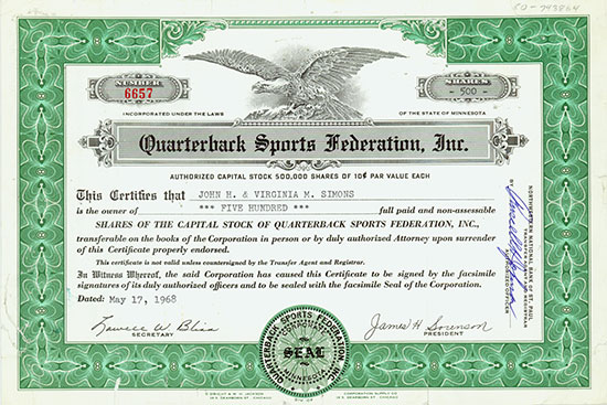 Quarterback Sports Federation, Inc.