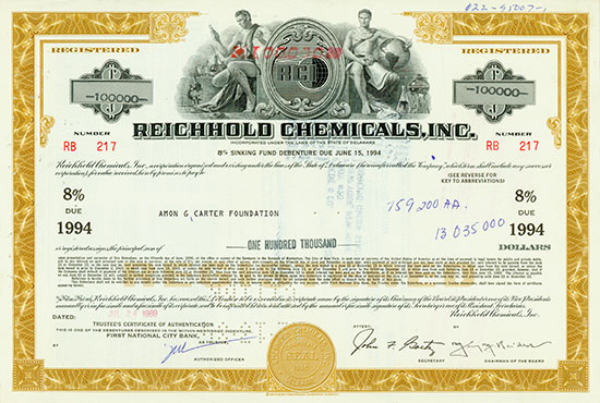 Reichhold Chemicals, Inc.