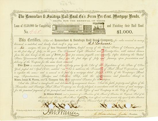 Rensselaer & Saratoga Rail Road Company