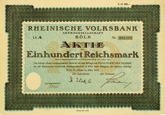 Rheinische Volksbank AG