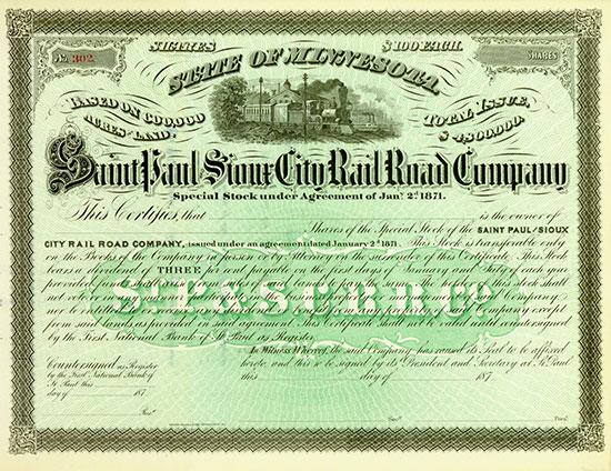 Saint Paul & Sioux City Rail Road Company