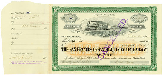 San Francisco and San Joaquin Valley Railway