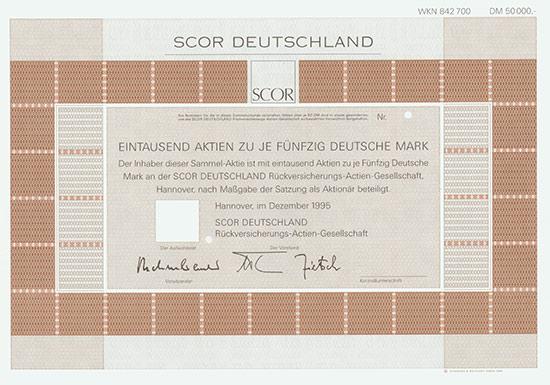 SCOR DEUTSCHLAND Rückversicherungs-AG