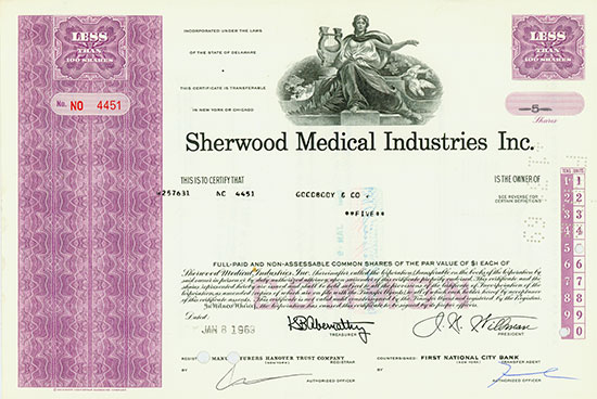 Sherwood Medical Industries Inc.